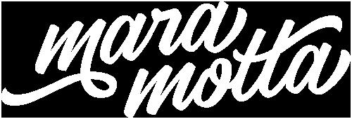 logo Mara Motta bianco