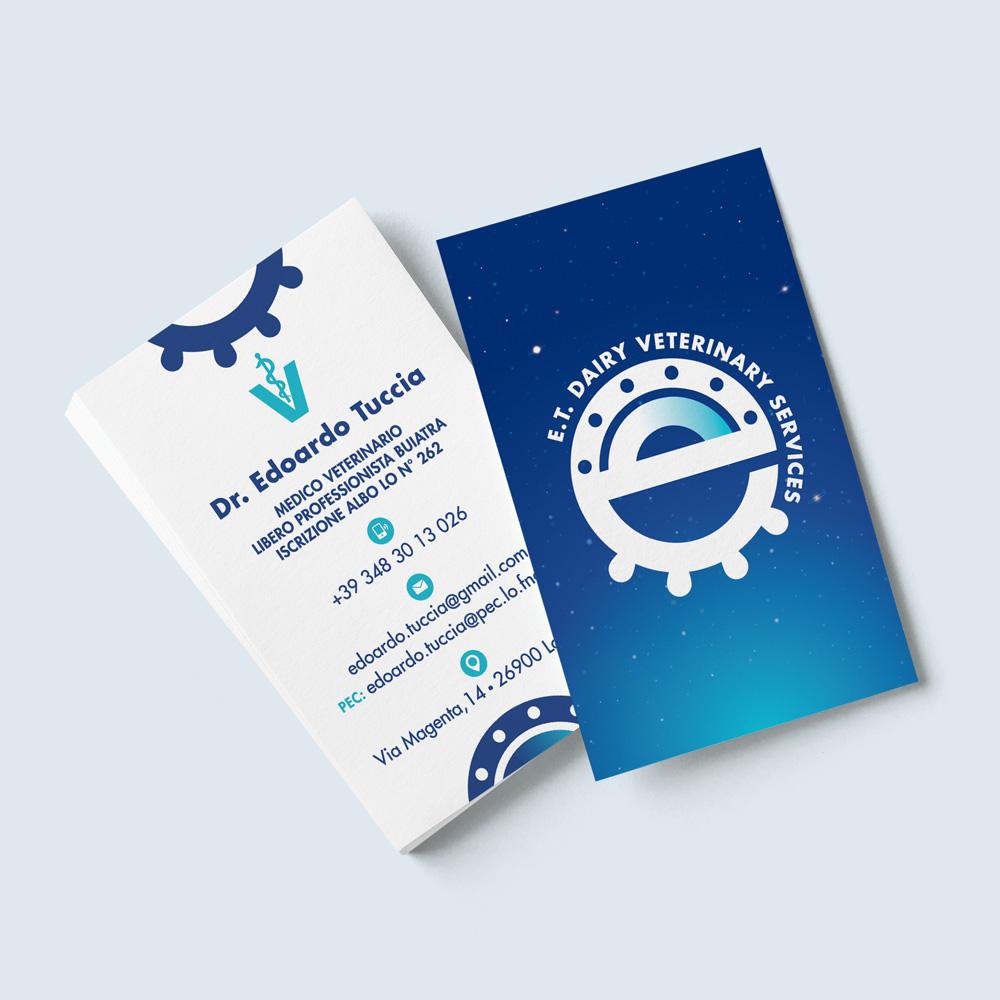 biglietti da visita ET dairy veterinary services