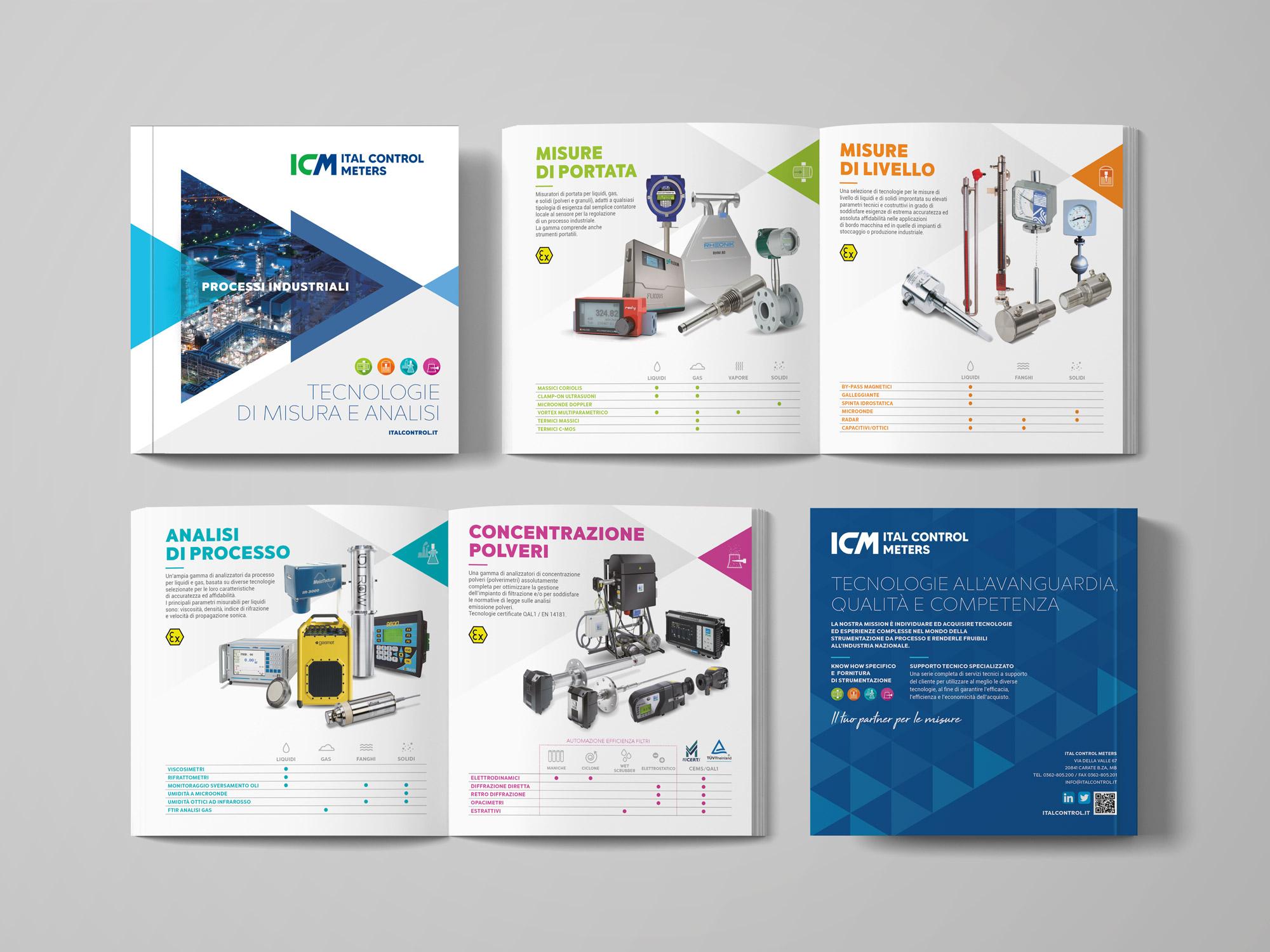 Brochure quadrata Ital Control Meters