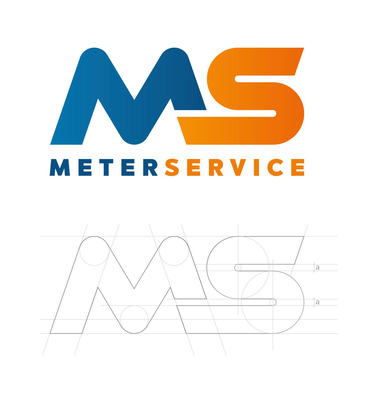 costruzione e logo Meterservice