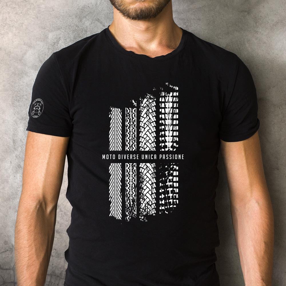 tshirt nera con disegno BrianzaRiders