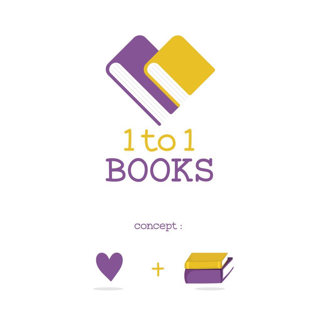 concept e logo di 1to1books