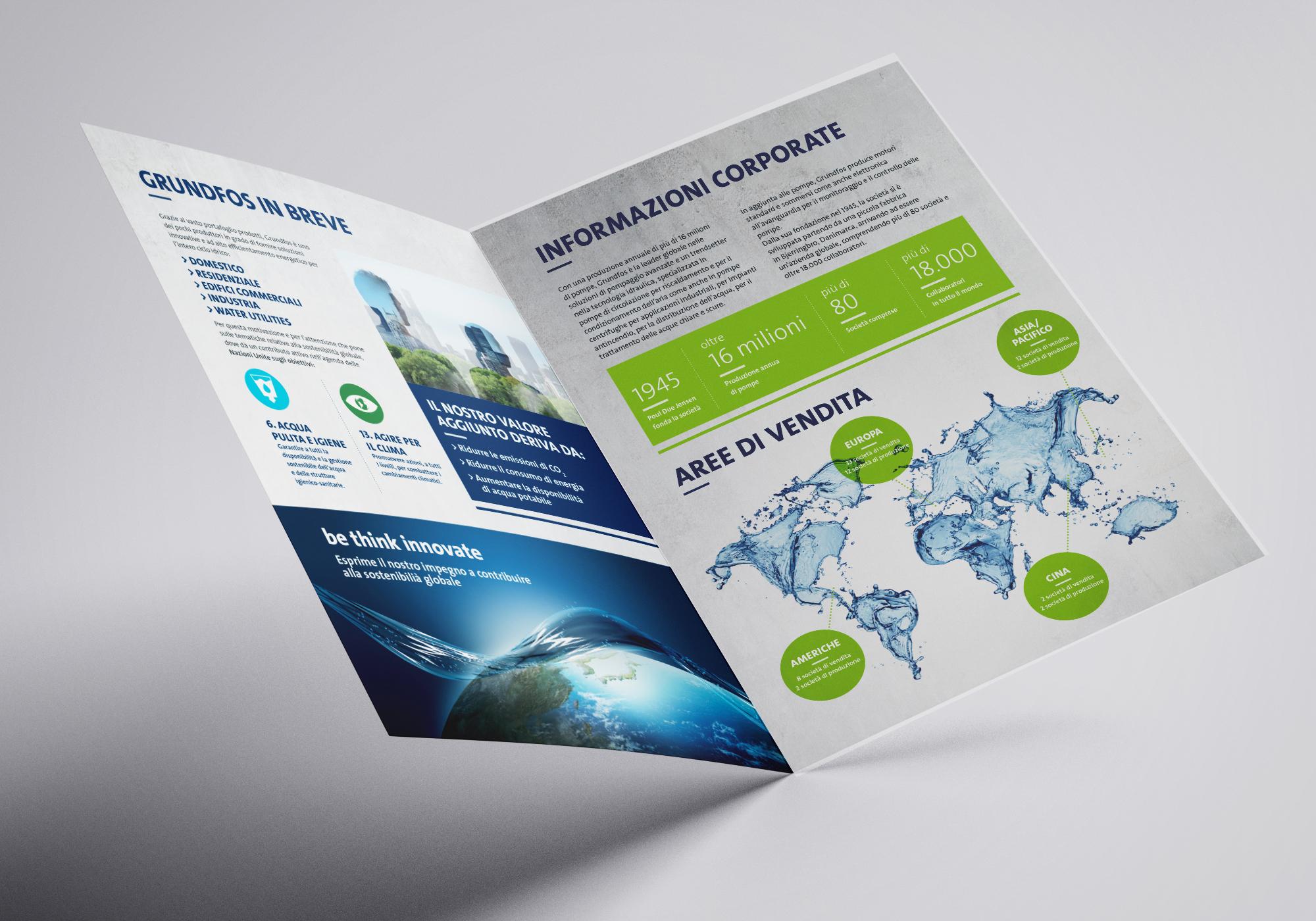 Grundfos brochure istituzionale aperta