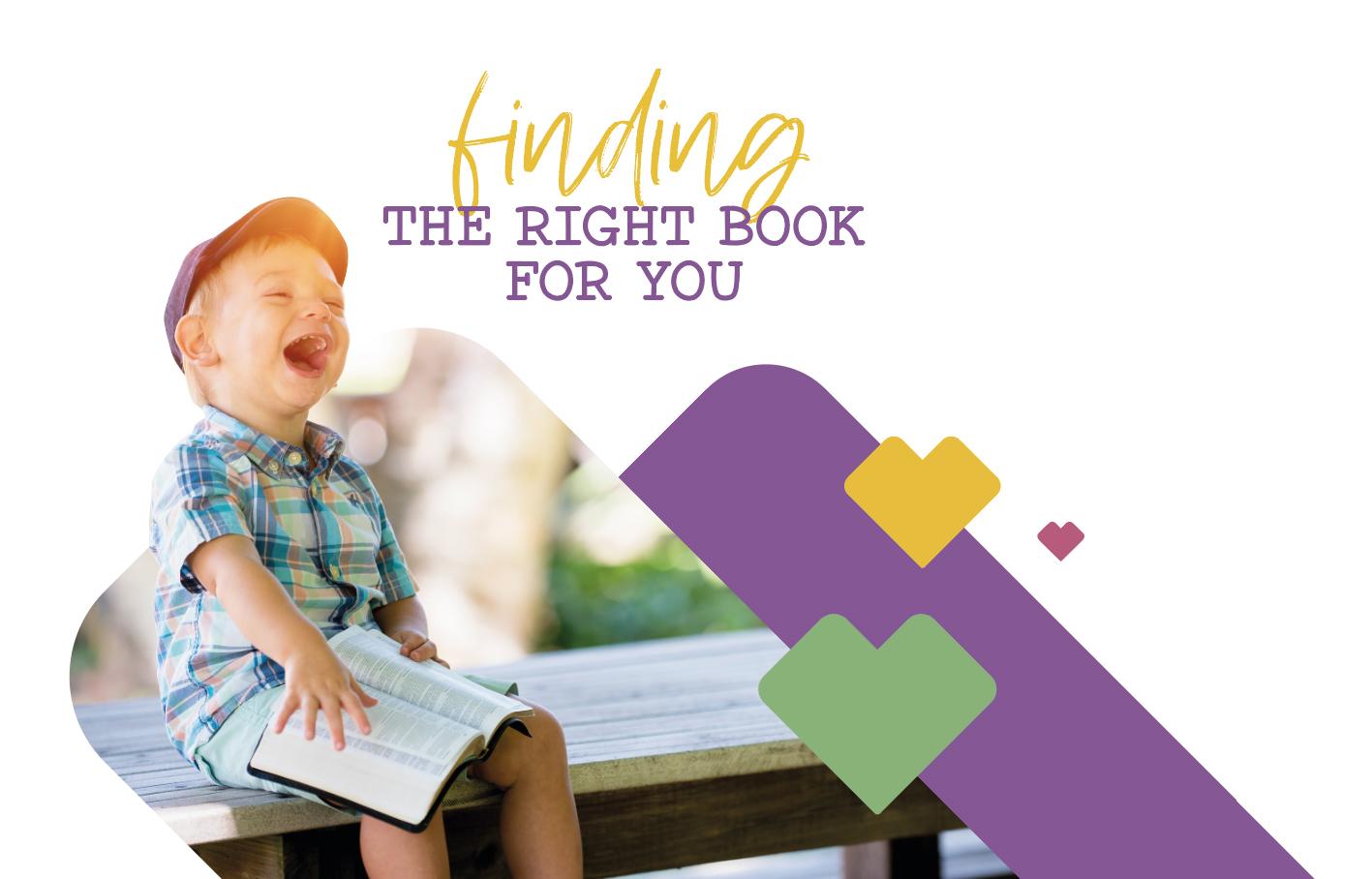 grafica 1to1books con bambino sorridente con un libro
